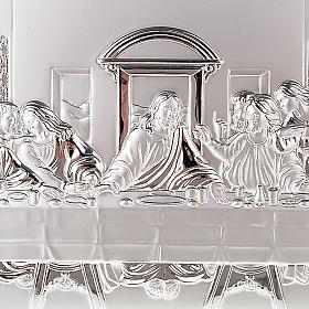 Silver profiled Bas Relief - Leonardo's Last Supper s3