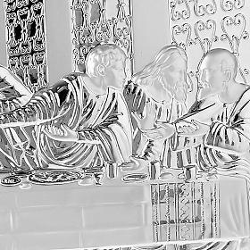 Silver profiled Bas Relief - Leonardo's Last Supper s5