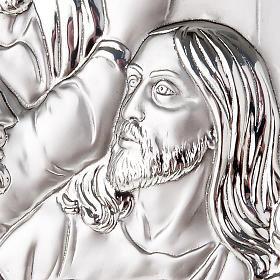 Silver profiled Bas Relief - Leonardo's Last Supper s6