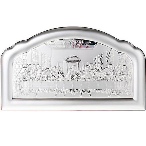Silver profiled Bas Relief - Leonardo's Last Supper 1