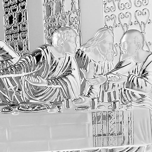 Silver profiled Bas Relief - Leonardo's Last Supper 5