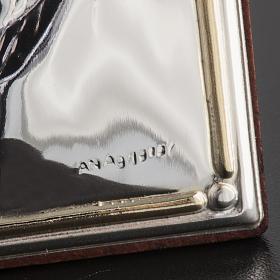Bajorrelieve plata beato Juan Pablo II arco piedra s3
