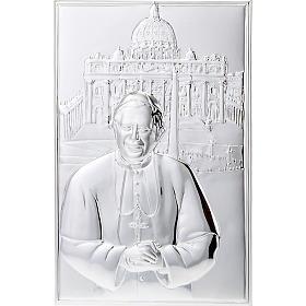 Bassorilievo bilaminato Benedetto XVI San Pietro s1