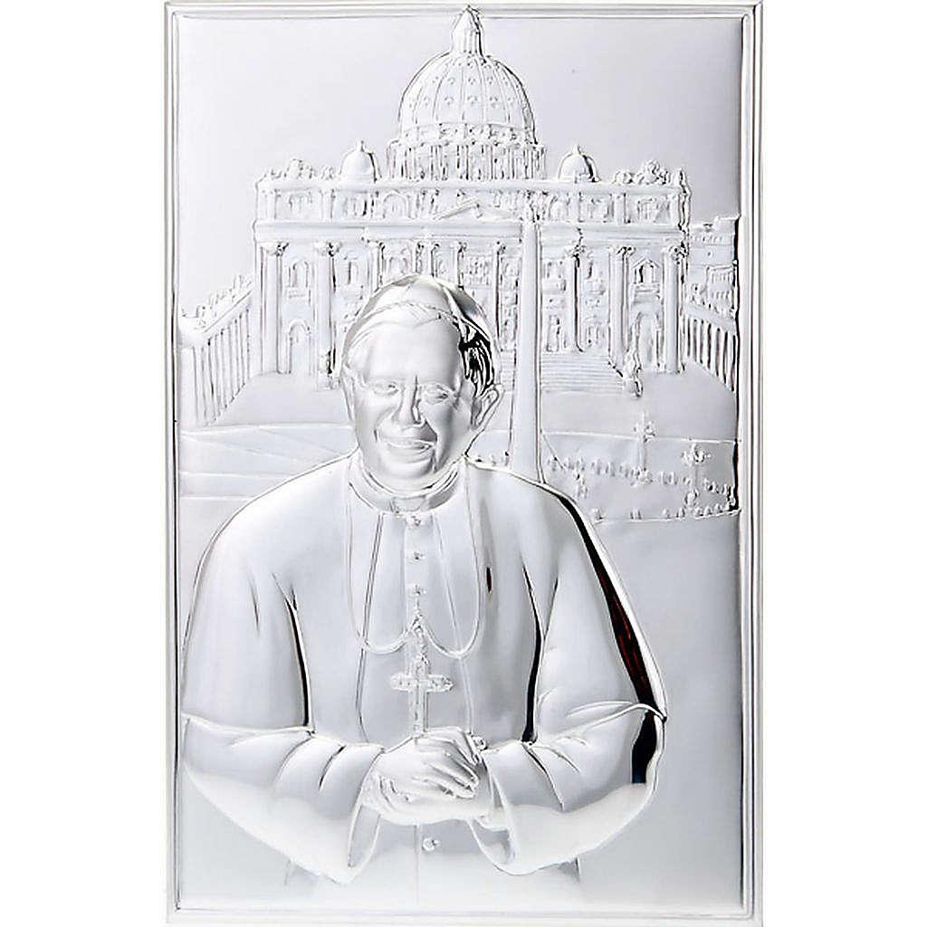 Silver Bas-Relief Benedict XVI Saint Peter's Basilica 4