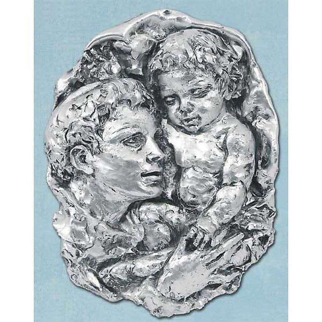 Silver Bas-relief, Saint Anthony 4