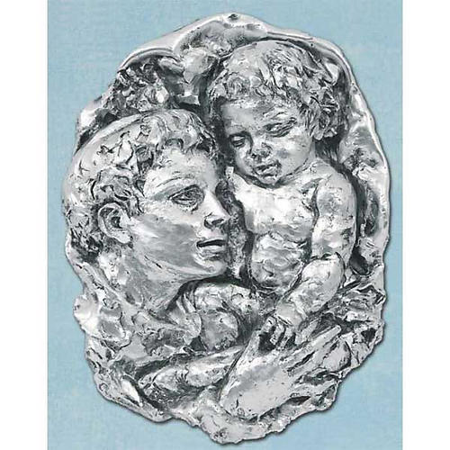 Silver Bas-relief, Saint Anthony 1
