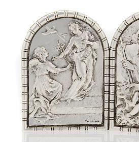 Bassorilievo trittico S. Famiglia Crocifissione Annunciazione s2