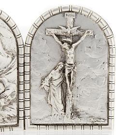 Bassorilievo trittico S. Famiglia Crocifissione Annunciazione s3
