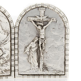 Bas-relief Triptych, Holy Family, Crucifixion, Annunciation s3