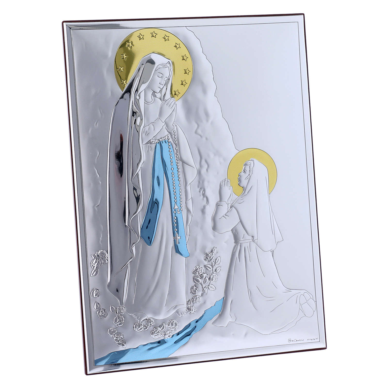 Our Lady of Lourdes laminboard 10X7.5