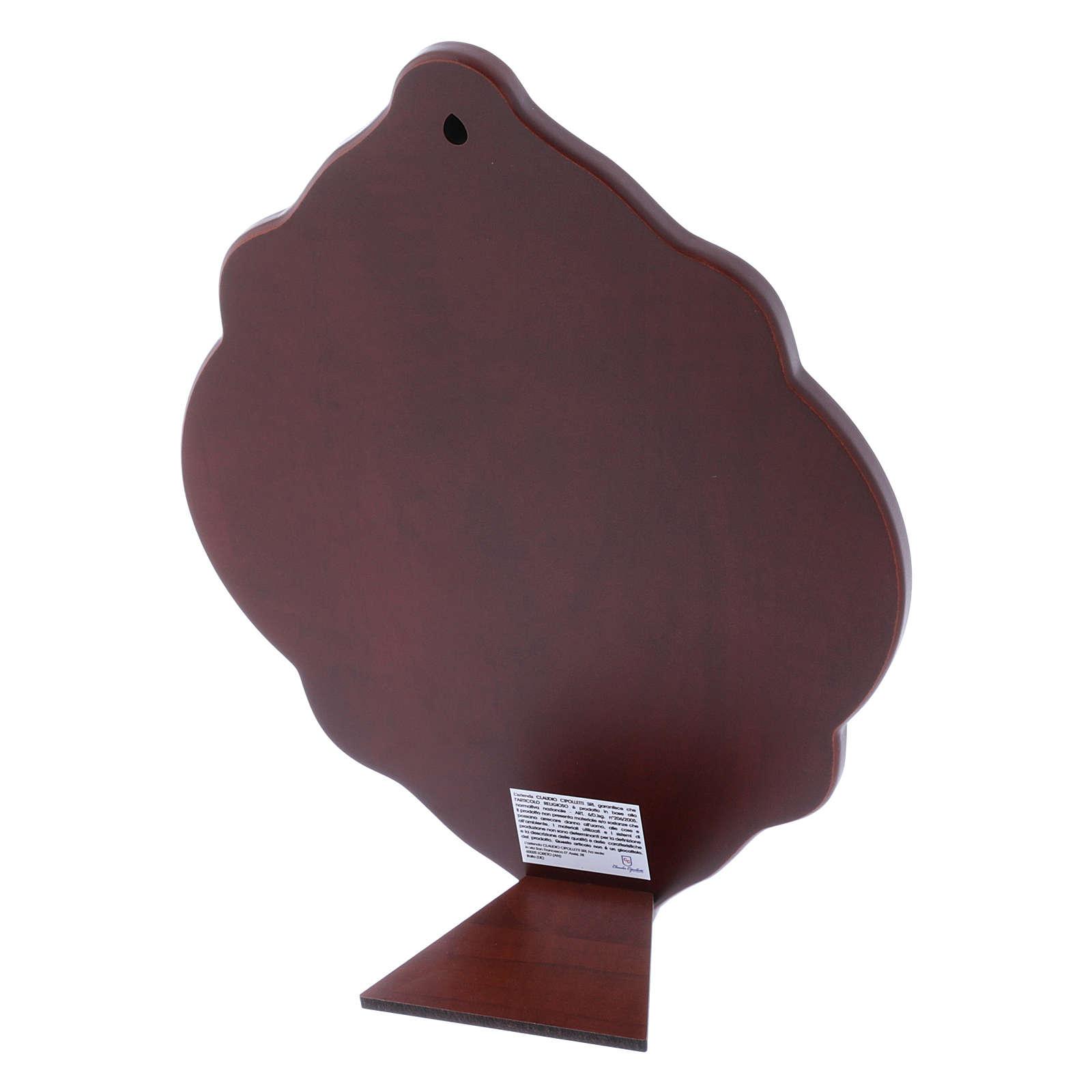 Quadro in bilaminato con retro in legno pregiato 31X21 cm 4