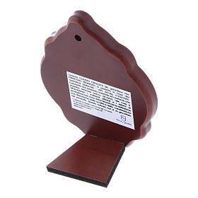 Quadro 10X7 cm in bilaminato con retro in legno pregiato s3