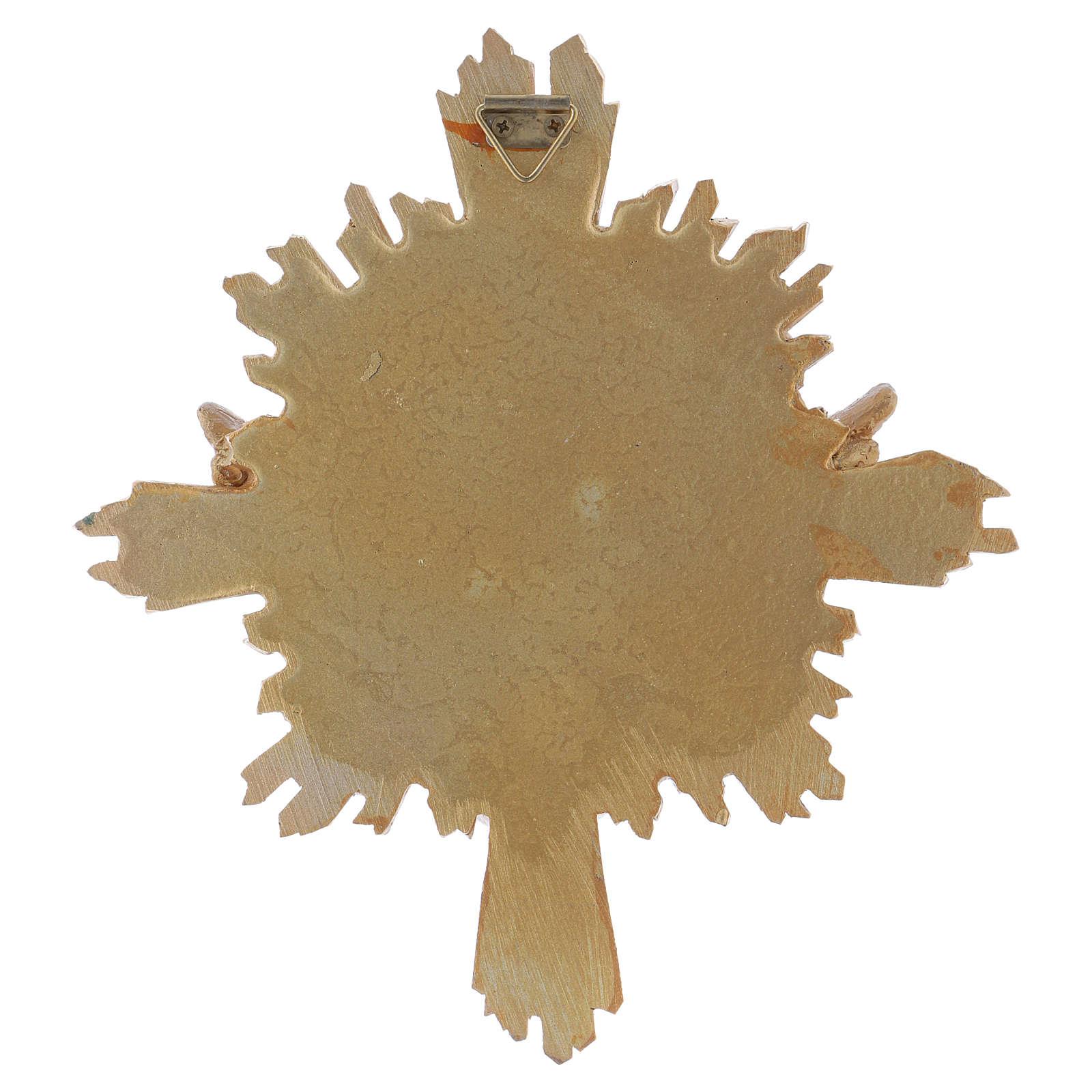 Cuadro de resina Paloma 20,3x18,3 cm 4