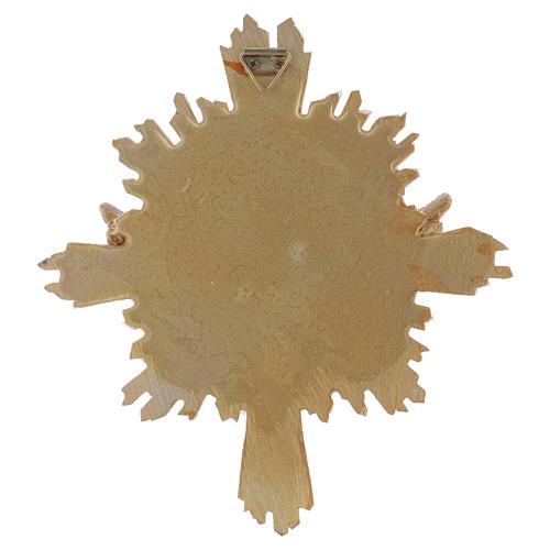 Cuadro de resina Paloma 20,3x18,3 cm 2