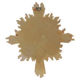 Quadro em resina Pomba 20,3x18,3 cm s2