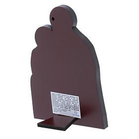 Quadro Natività in alluminio 14X10 cm s3