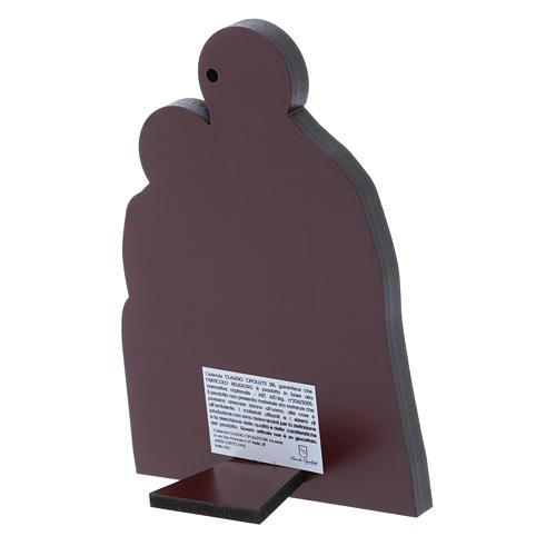 Quadro Natività in alluminio 14X10 cm 3