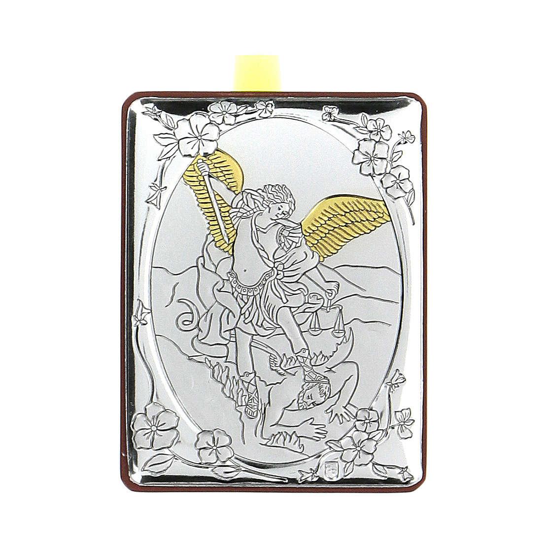 Bajorrelieve bilaminado Ángel protector 7x5 cm 4