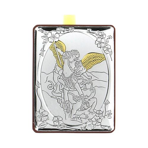 Bajorrelieve bilaminado Ángel protector 7x5 cm 1