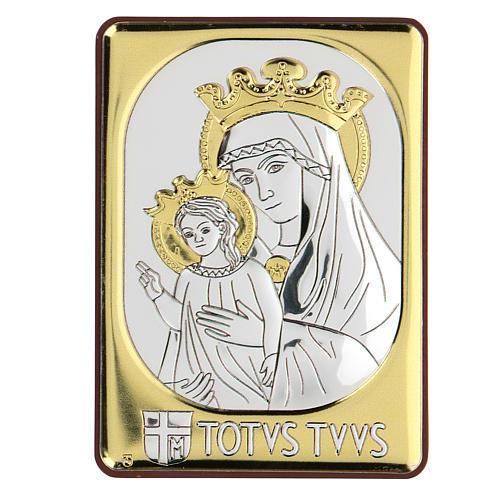 Bajorrelieve bilaminado Virgen