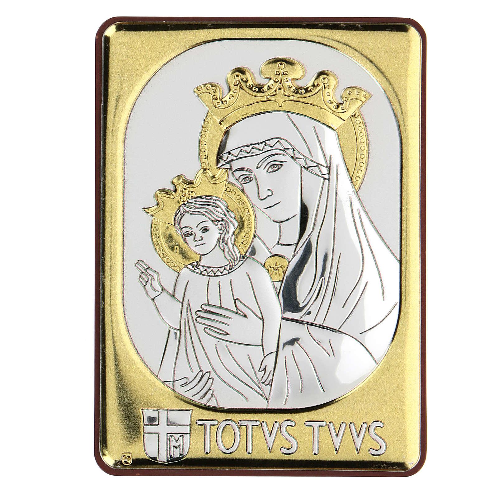 Bassorilievo bilaminato Madonna