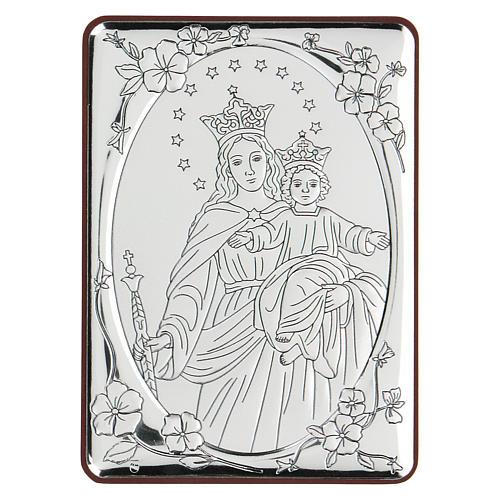 Bassorilievo bilaminato Maria Ausiliatrice 10x7 cm 1