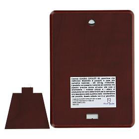 Bajorrelieve bilaminado Virgen Ferruzzi 10x7 cm s3