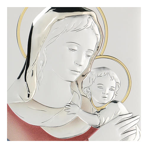 Bassorilievo bilaminato Madonna Ferruzzi 18x14 cm 2
