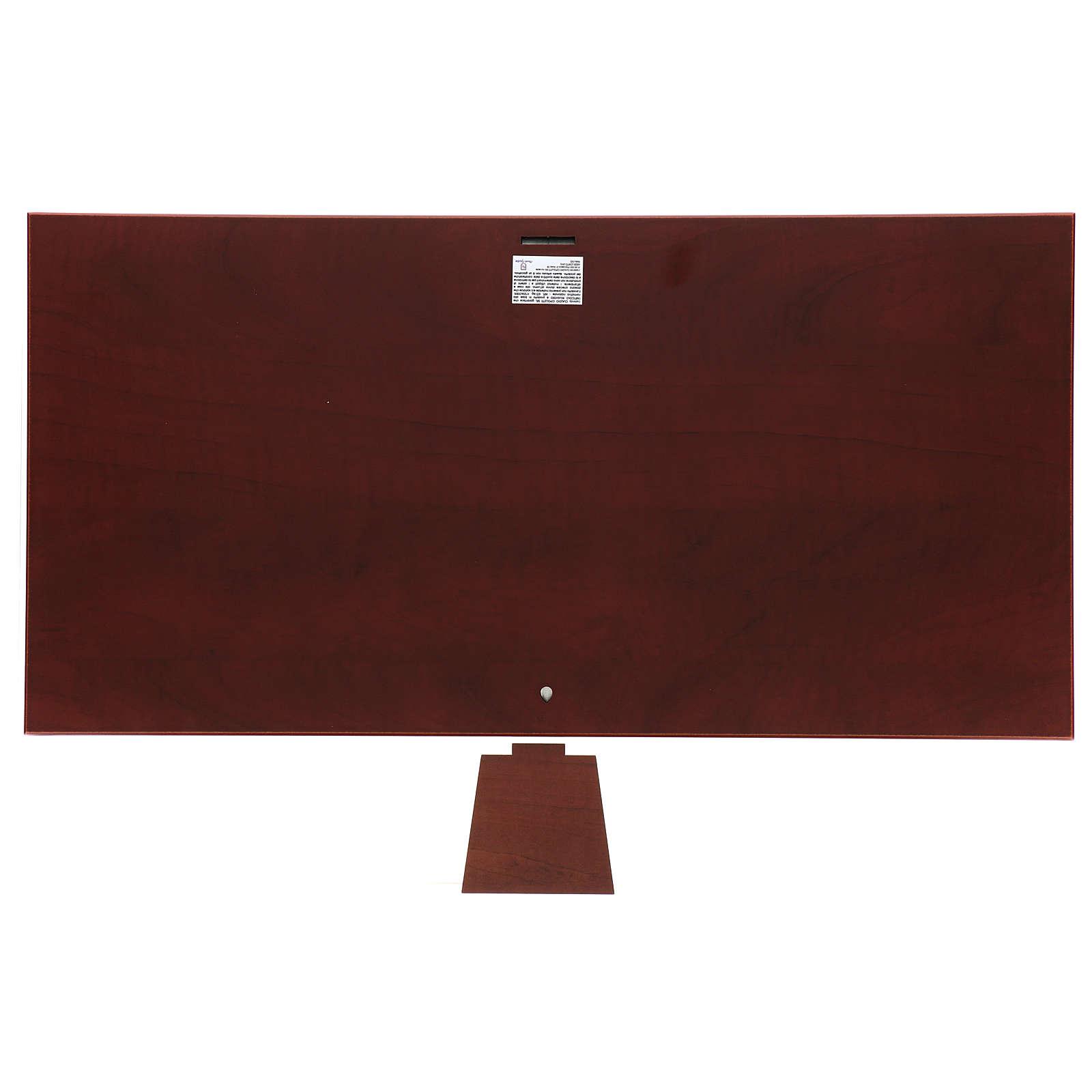 Bajorrelieve bilaminado Última Cena 30x60 cm 4
