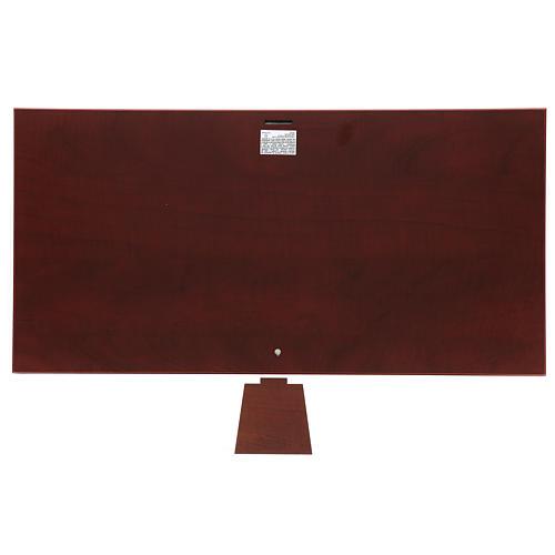 Bajorrelieve bilaminado esmaltado Última Cena 30x60 cm 3