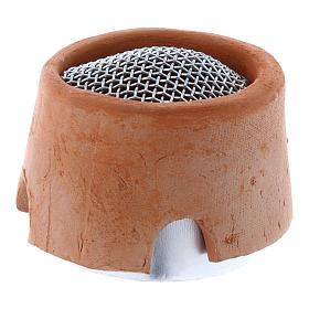 Réchaud brûleur d'encens pour lampe votive s2