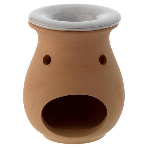 Terracotta essential oil burner, 5