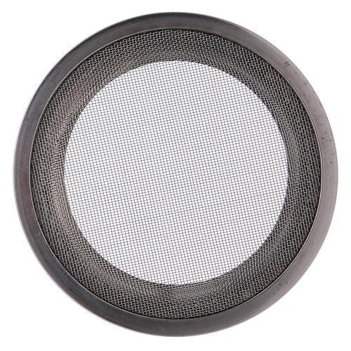 Ersatzteil Netz für Räucherschale versilberten Stahl 8cm 3