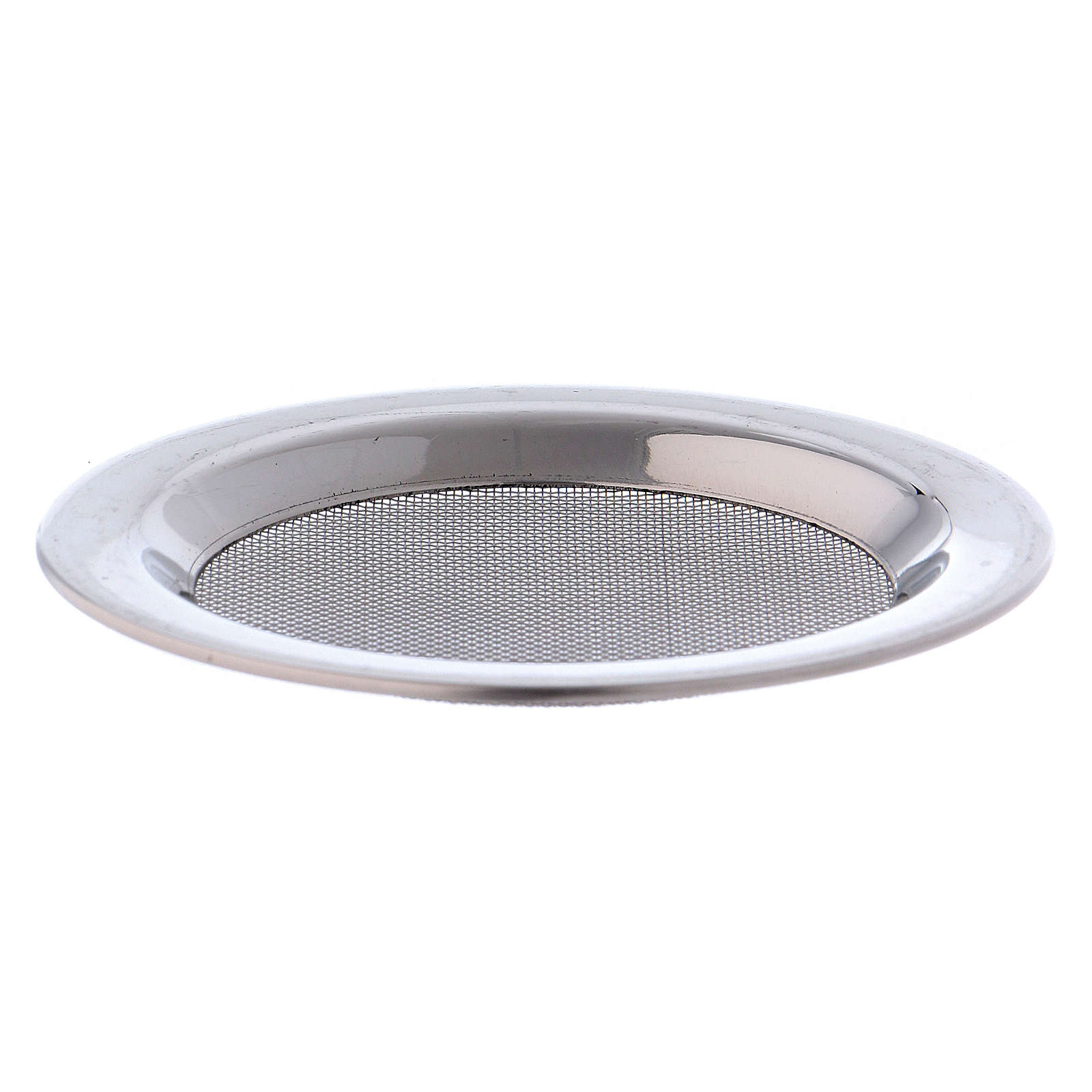 Mesh for incense burner in silver-plated steel diam. 8 cm 3