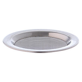 Mesh for incense burner in silver-plated steel diam. 8 cm s1
