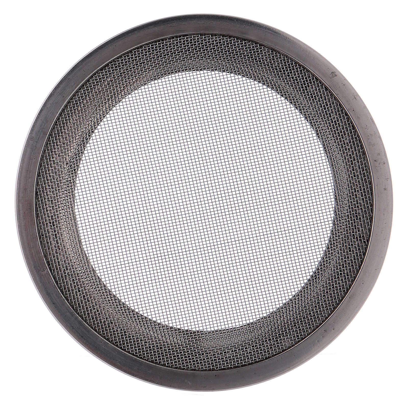 Recambio redes pebetero acero plateado d. 8 cm 3