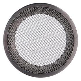 Ricambio retine bruciaincenso acciaio argentato d. 8 cm s3