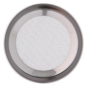 Ricambio retine bruciaincenso acciaio argentato d. 7 cm s2