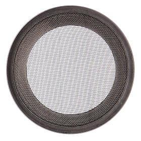 Ricambio retine bruciaincenso acciaio argentato d. 7 cm s3