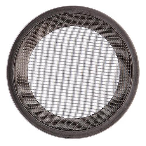 Ricambio retine bruciaincenso acciaio argentato d. 7 cm 3