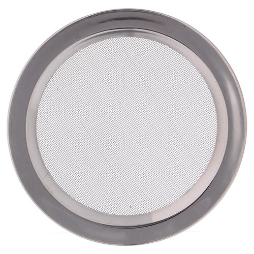 Spare net for incense burner silver-colored polish steel diam. 4 3/4 in 1
