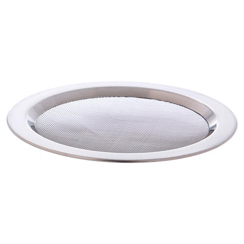 Spare net for incense burner silver-colored polish steel diam. 4 3/4 in 2