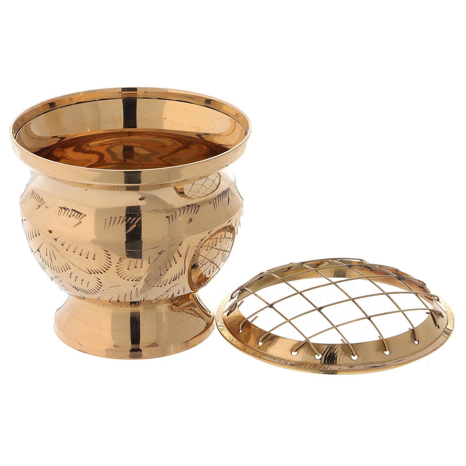 Incense burner with net diameter 3 in 3