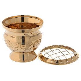 Incense burner with net diameter 3 in s2