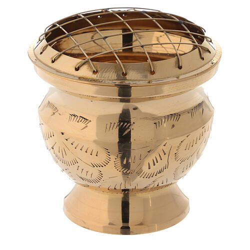 Incense burner with net diameter 3 in 1
