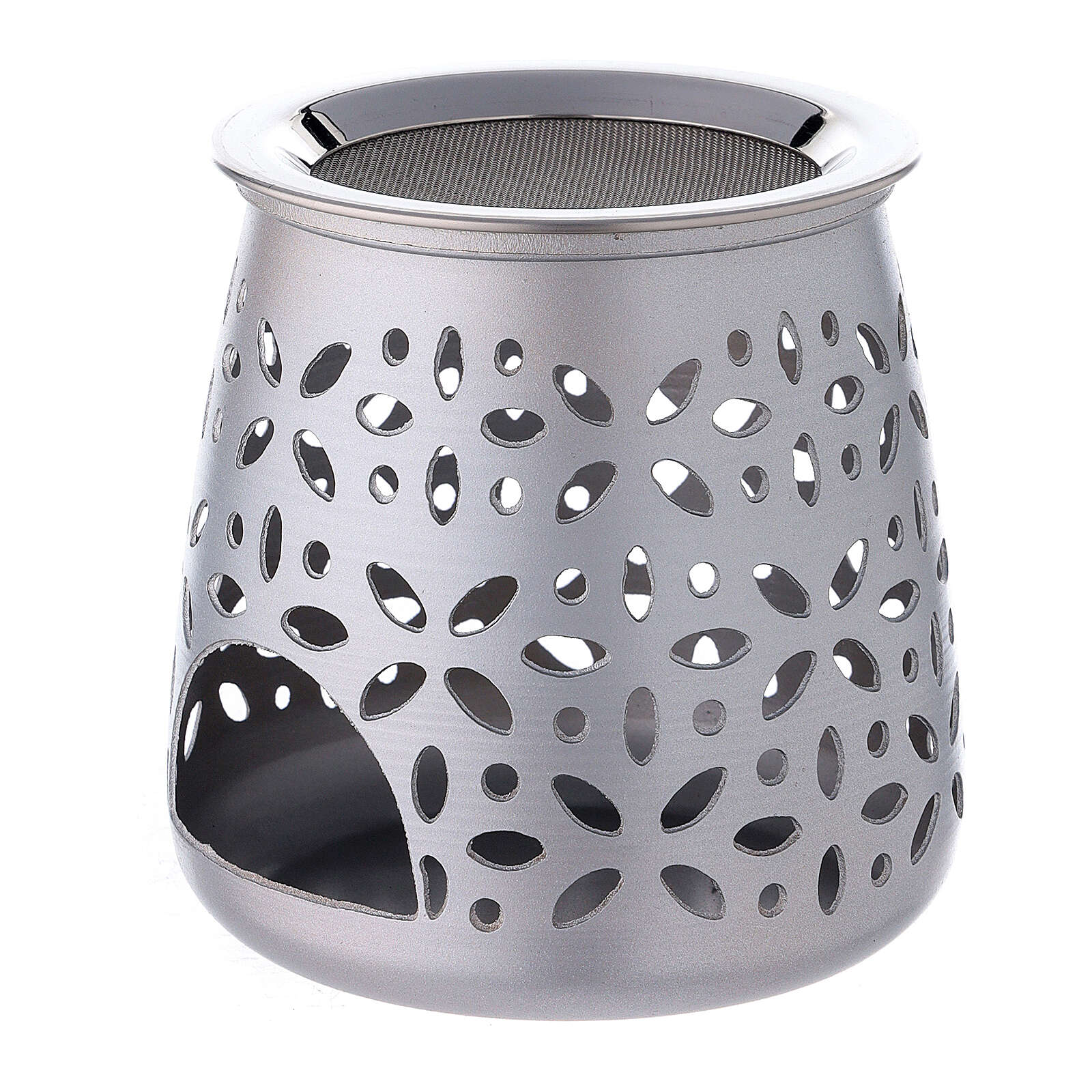 Kadzielniczka perforowana aluminium satynowane 11 cm 3