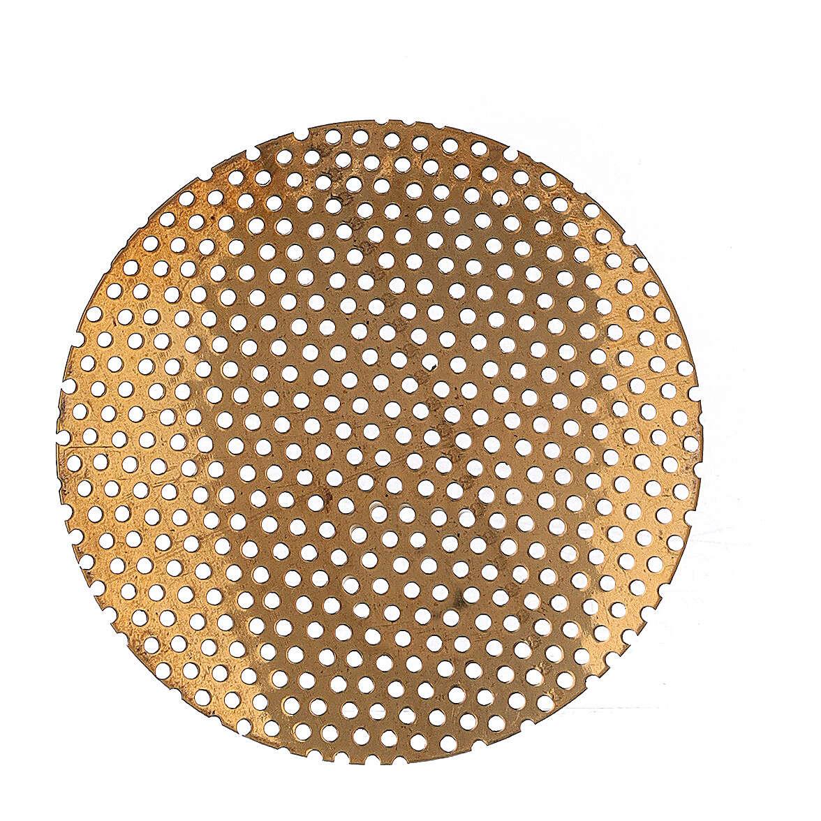 Pièce de rechange filet pour brûle-encens 5 cm laiton doré 3