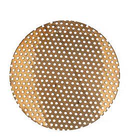 Ricambio retina per bruciaincenso 5 cm ottone dorato s1