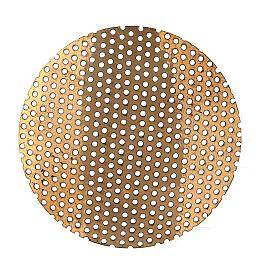 Ricambio retina per bruciaincenso 5 cm ottone dorato s2
