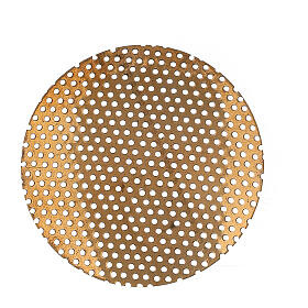 Spare net for incense burner 2 in gold plated brass s1